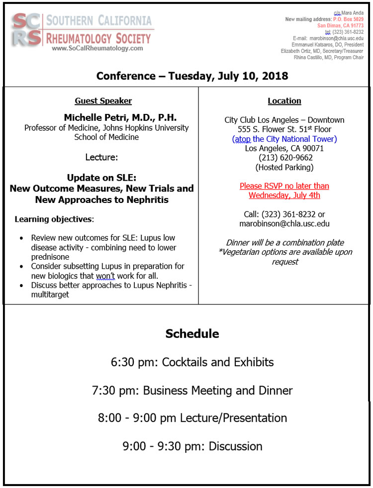 SCRS-CONF-JULY-10-2018